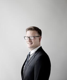 Businessman formal wear professionelles unternehmenskonzept