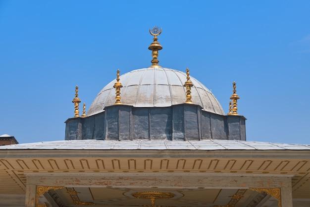Byzantinisches dach topkapi-palast