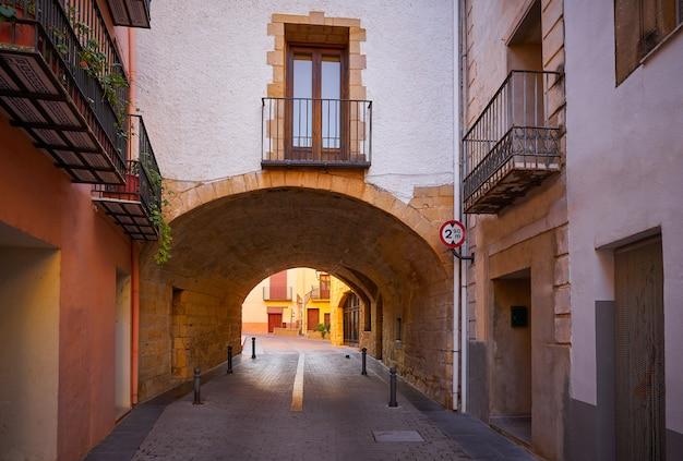 Cabanes dorf von castellon in spanien