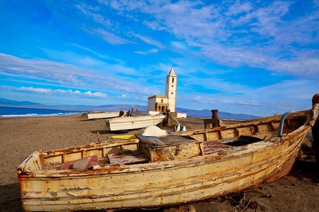 Cabo de gata in der kirche von san miguel beach salinas