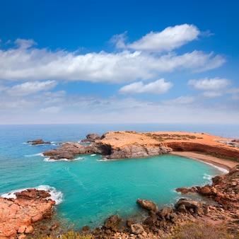 Cabo de palos strand in der nähe von mar menor murcia