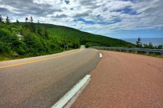 Cabot trail landschaftlich schöne strecke hdr cape