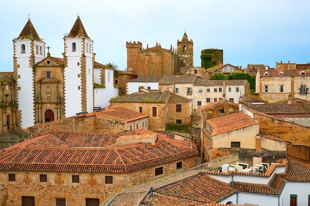 Caceres san francisco javier kirche in spanien