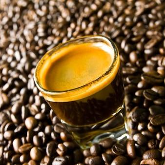 Cafe glatt schuss schön trinken