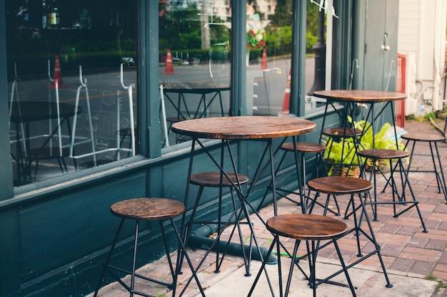 Cafe und sitzplatz
