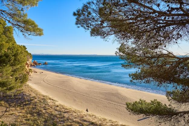 Cala angels strand playa in miami platja