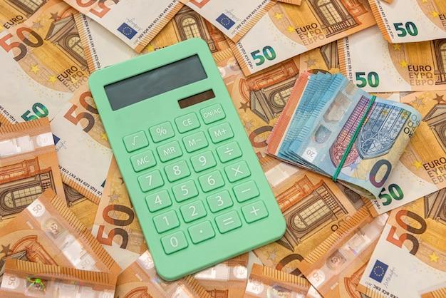 Calcualtor auf europäisches geld
