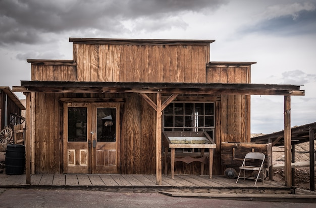 Calico ist eine geisterstadt in san bernardino county, kalifornien, usa.