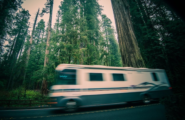 California rv reise