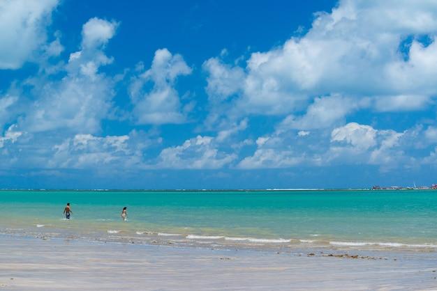 Camboinha strand in cabedelo in der nähe von joao pessoa paraiba brasilien am 14. november 2012
