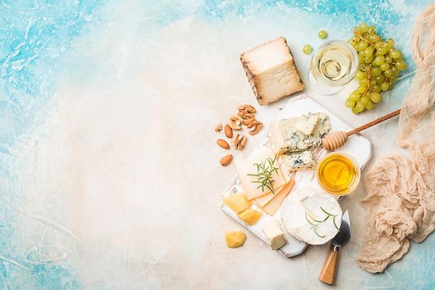 Camembert und brie