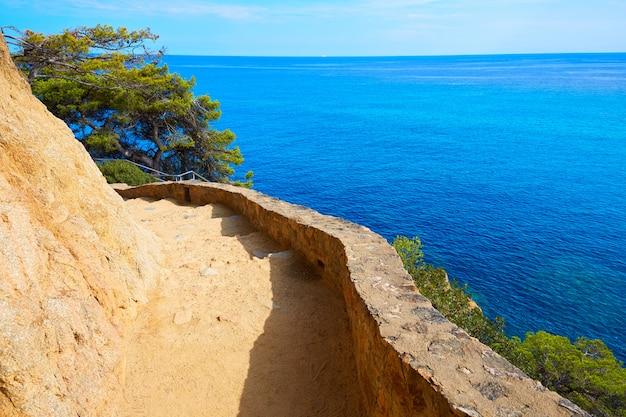 Cami de ronda strecke lloret de mar der costa brava