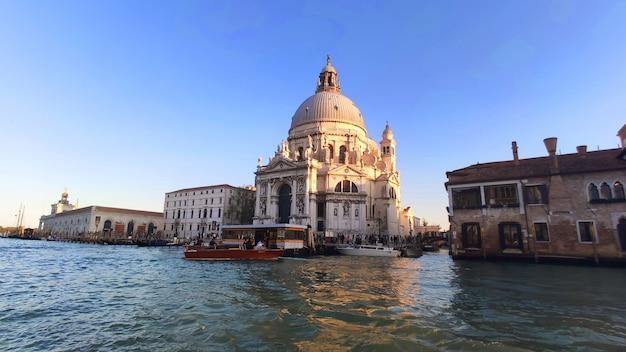 Canal grande blick venedig italien