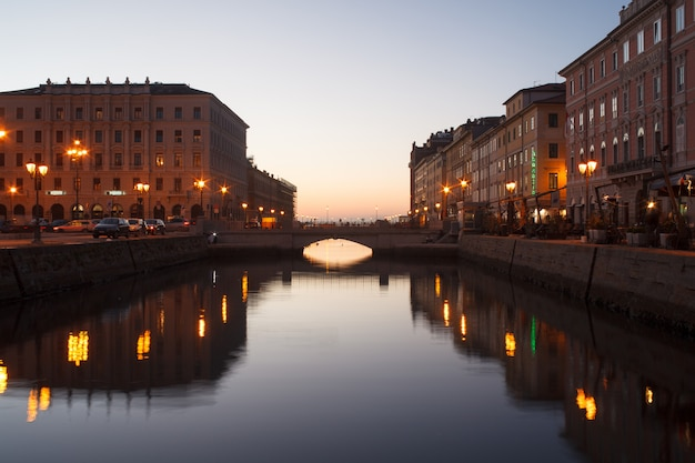Canal grande, triest