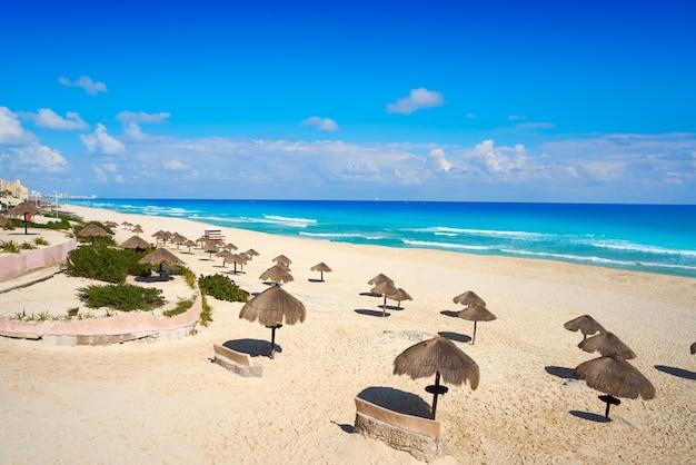 Cancun playa delfines strand riviera maya