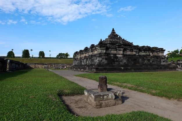 Candi sambisari oder sambisari tempel ist hindu tempel in yogyakarta, indonesien.