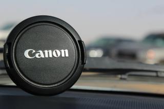 Canon objektivdeckel kappe
