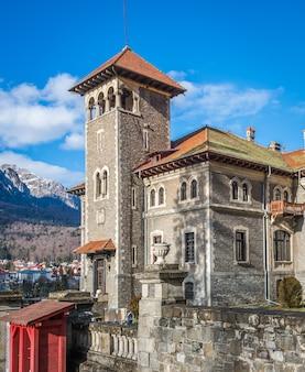 Cantacuzino-schloss in busteni rumänien