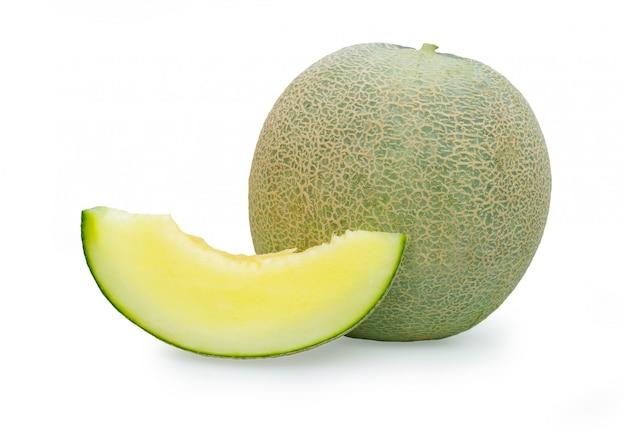 Cantaloupe, rockmelon, sweet melon oder spanspek ist eine melone