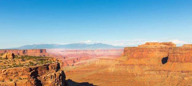 Canyon im dead horse state park, utah usa