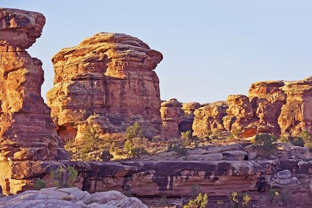 Canyonlands formationen