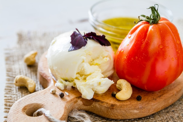 Caprese salat zutaten