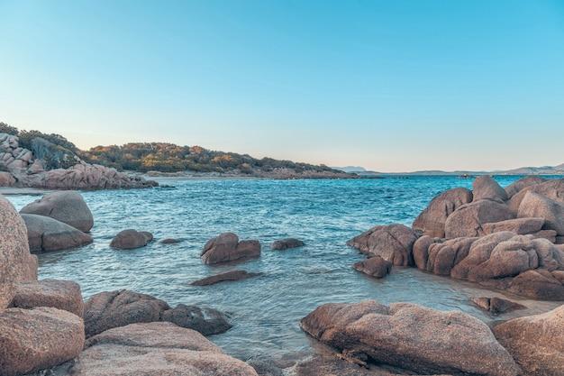 Capriccioli strand in costa smeralda