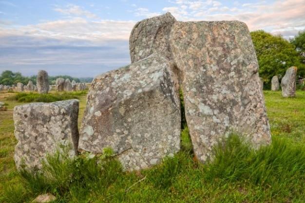 Carnac steinen hdr