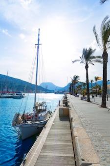 Cartagena murcia hafenhafen in spanien