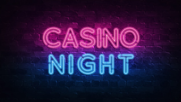 Casino 777 neonschild. glücks-roulette-jackpot.