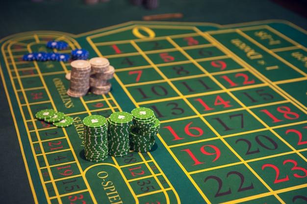 Casino, glücksspiel und entertainment-konzept