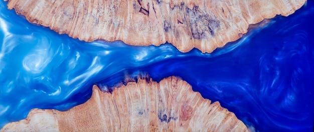 Casting epoxidharz stabilisator wurzelholz verschwimmen himmel abstrakten hintergrund