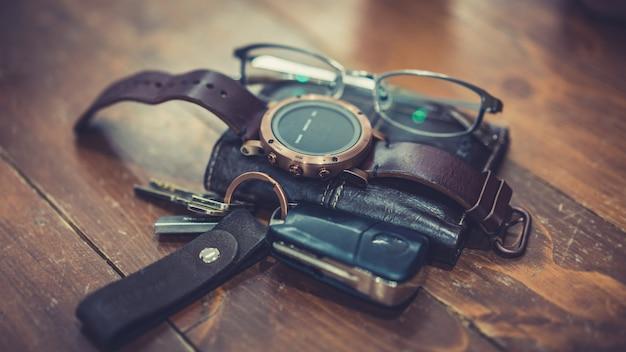 Casual accessoires für herren