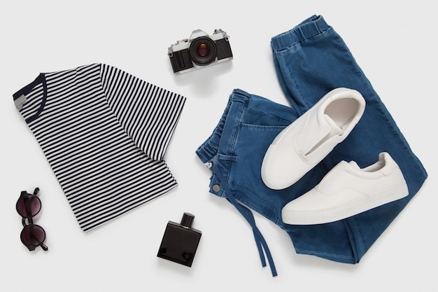 Casual männliches outfit