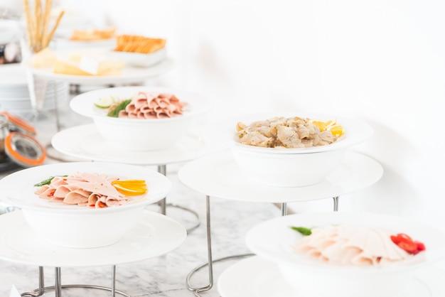 Catering buffet essen