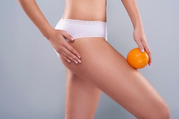 Cellulite ist ein problem jeder frau