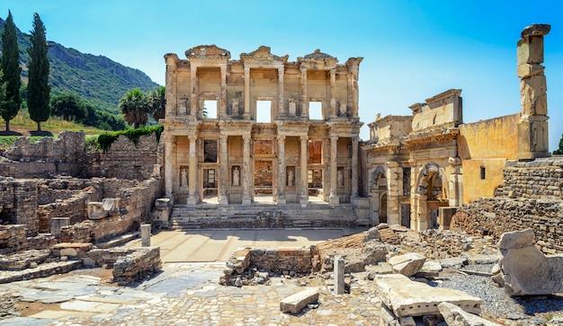 Celsus-bibliothek in ephesus, die türkei