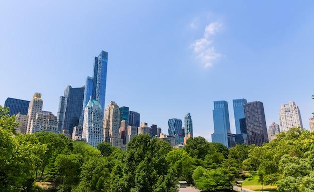 Central park manhattan, new york, usa
