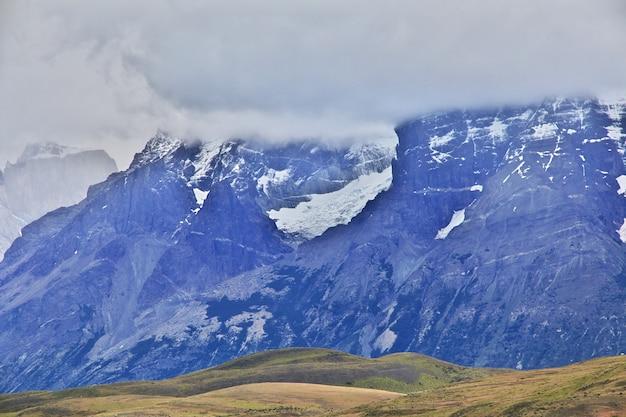 Cerro paine grande im nationalpark torres del paine in patagonien von chile