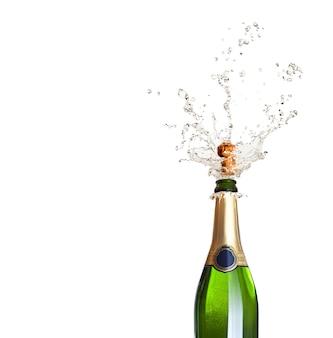 Champagner knallen lassen