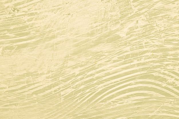 Chaotisch beige bemalte wand
