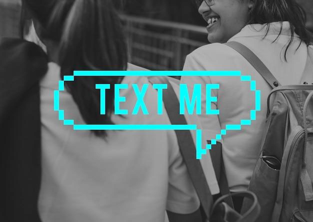 Chat nachricht sprechblase kommunikation