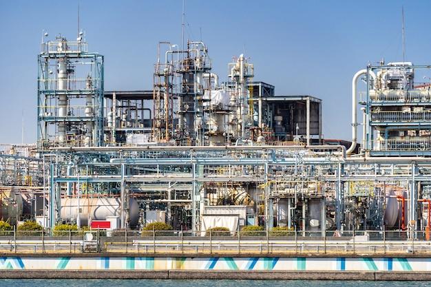 Chemiefabrik pflanze