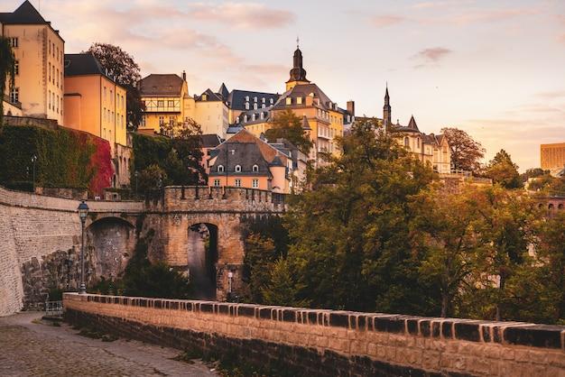 Chemine de la corniche in luxemburg-stadt