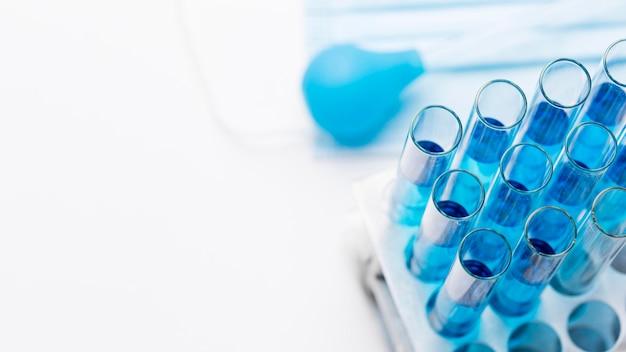 Chemische substanzen mit kopierraum