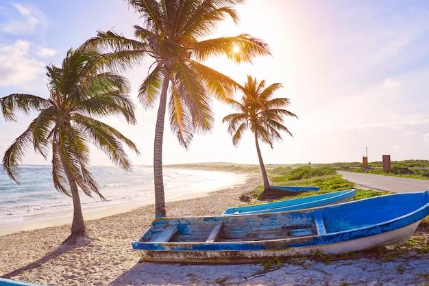 Chen rio strand cozumel insel in mexiko