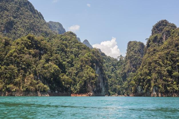 Cheow lan see, khao sok nationalpark, thailand
