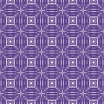 Chevron-streifen-design. lila symmetrischer kaleidoskophintergrund. textilfertiger hervorragender druck, badebekleidungsstoff, tapete, verpackung. geometrisches chevron-streifenmuster.