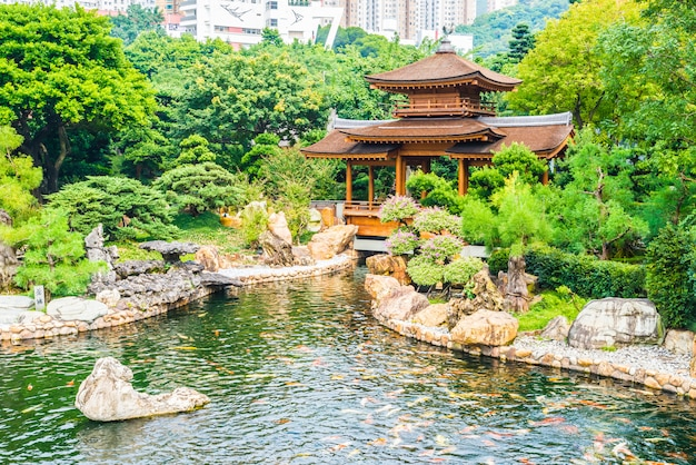 Chi lin tempel in nan lian garten
