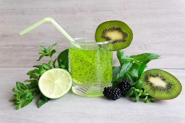 Chia-samen-cocktail, antioxidans
